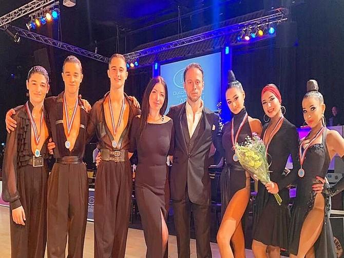 Брянские танцоры привезли три комплекта золотых медалей из Нидерландов