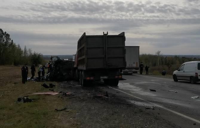 Под Севском уснувший водитель устроил жуткое ДТП: погибли 3 человека