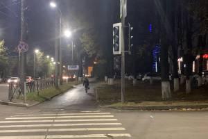 В Брянске отключили светофоры на перекрестке Красноармейской и Ромашина
