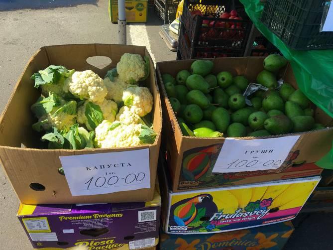 Брянцы за первый день работы ярмарок купили 22,9 тонн овощей и фруктов
