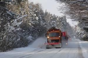 На Брянщине очистили от снега 6,5 тысяч километров региональных дорог