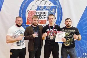 Брянцы покорили чемпионат и первенство ЦФО по ММА