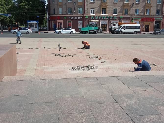 В Брянске отремонтируют площади Ленина и Партизан