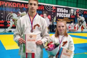Брянские спортсмены отличились на Кубке России по рукопашному бою
