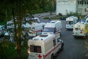 В Брянске заметили «парад» скорых у больницы №4