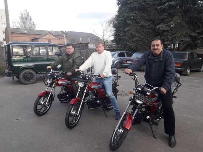 Лесничие пересели на мопеды в Брянской области
