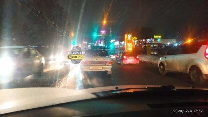 В Брянске заметили автомобиль-невидимку