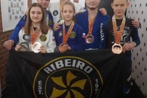 Брянцы завоевали россыпь наград на турнире по джиу джитсу
