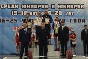Брянские тяжелоатлетки стали призерами первенства России