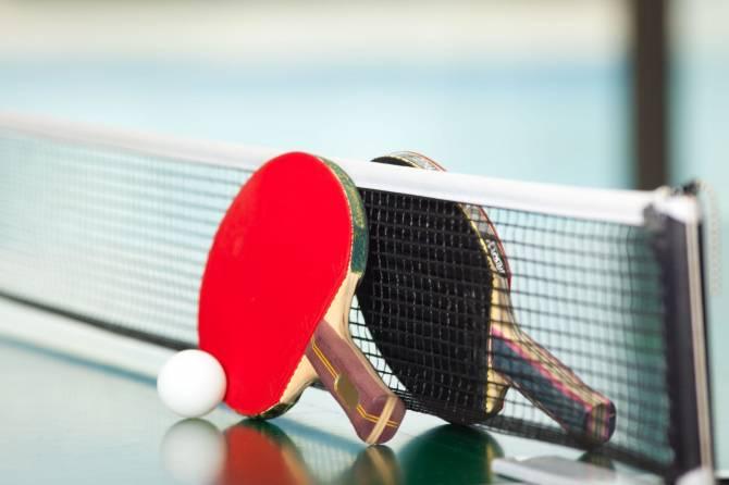 В брянском поселке Белые Берега пройдет чемпионат по настольному теннису