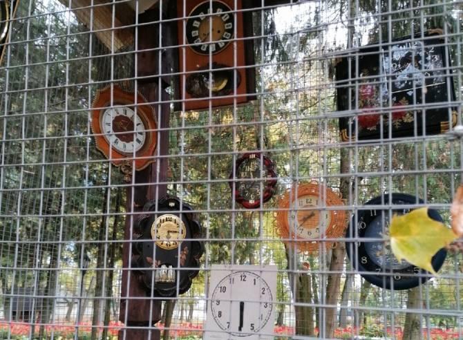 В трубчевском парке появился необычный арт-объект