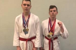 Сыновья брянского росгвардейца стали призерами турнира по рукопашному бою