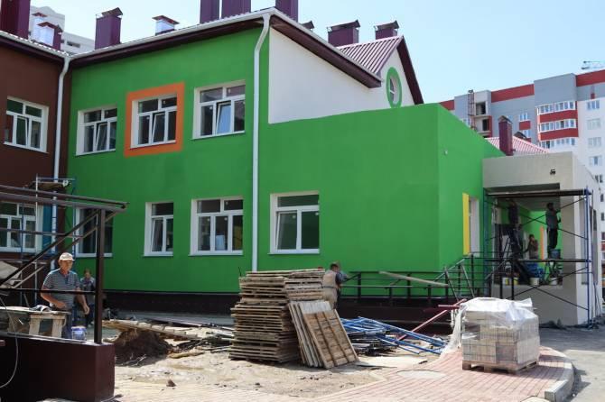 В Брянске открыли новый детсад «Тюльпанчик» на 270 мест