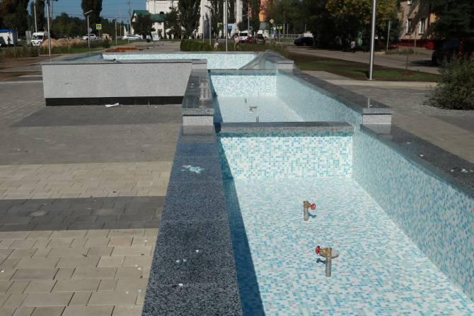 В Брянске у сквера «Литий» вскоре снова запустят фонтан