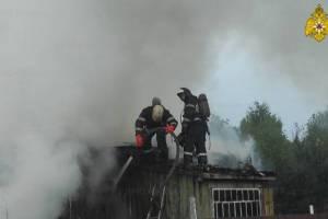 В Брянске во время пожара в частном доме погиб 62-летний хозяин