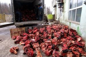 В Брянской области уничтожили 22 тонны говяжьих голов