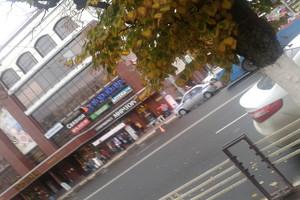 У ТРЦ «Родина» в Брянске в ДТП попал троллейбус