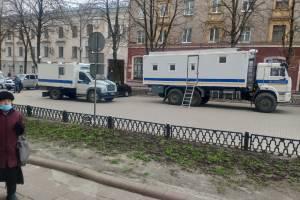 В Брянске участников акции протеста ждут ОМОН и автозаки