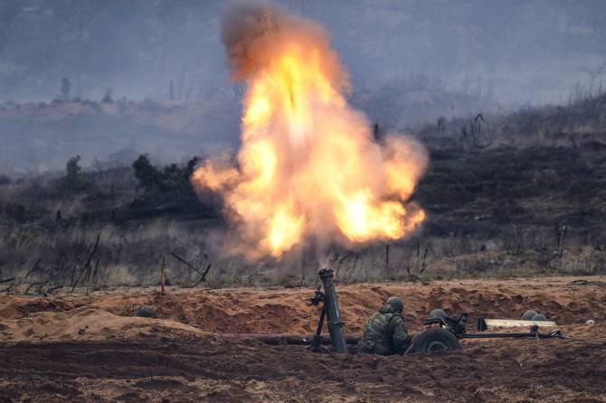 Брянские миномётчики с беспилотниками уничтожили диверсантов