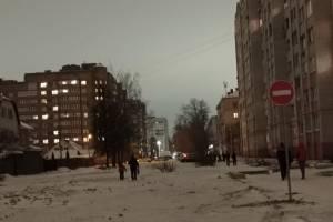 В Брянске запретили въезд в знаменитую лужу на Медведева