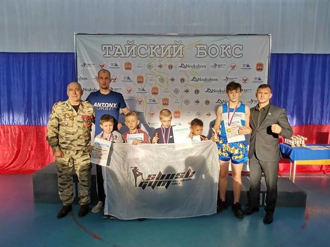 Брянские спортсмены взяли 3 золота на международном турнире по тайскому боксу