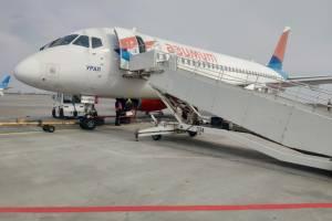 Авиарейс из Брянска в Минводы задержали