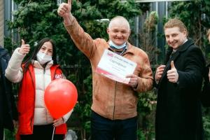Житель Дубровки заправился бензином и выиграл 200 тысяч рублей