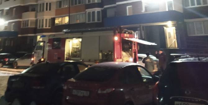 В Брянске произошёл пожар в многоэтажке ЖК «Речной»