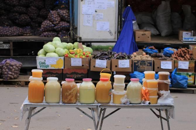 В Брянске исчезновение покупателей на рынках объяснили морозами