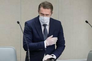 Глава Минздрава призвал брянцев продолжать носить маски