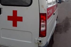 На брянской трассе перевернулся пьяный мопедист и сломал челюсть