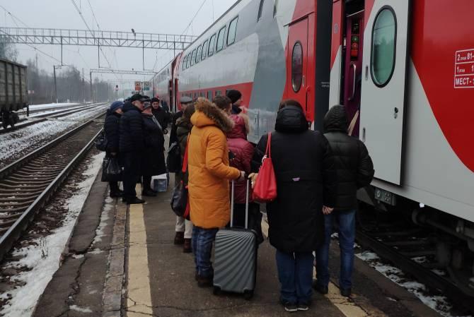 Брянцы сняли видео «штурма» неисправных двухэтажных поездов до Москвы