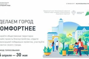 В Брянске стартовало онлайн-голосование по выбору общественных территорий