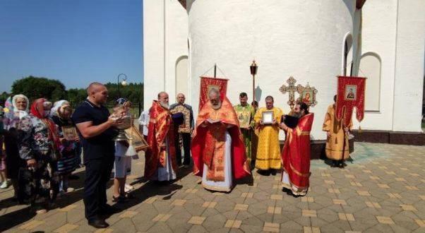 В брянском селе Журиничи престольный праздник отметили крестным ходом