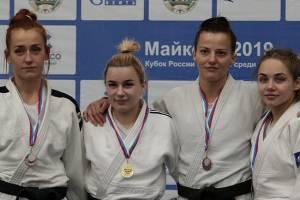 Брянская дзюдоистка взяла серебро на Кубке России