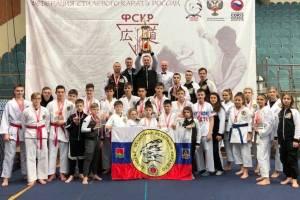 Брянские каратисты завоевали «Кубок мужества»