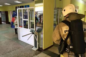 В Клинцах сотрудники МЧС эвакуировали колледж