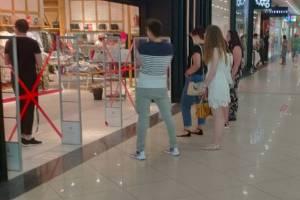 Продавцов ТРЦ «Аэропарк» шокировали обезумевшие брянцы