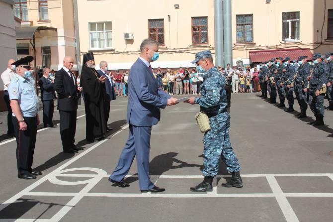 Брянские полицейские вернулись из Чечни