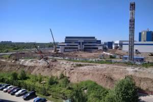 В Брянске завершается строительство Дворца единоборств