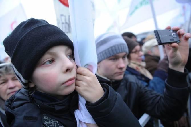 В Брянске подросткам пригрозили штрафами за участие в митингах