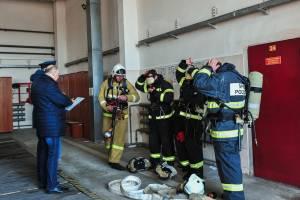 В Брянске определили лучшее звено газодымозащитной службы
