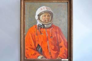 В Брянске вспомнили об уникальном портрете Юрия Гагарина