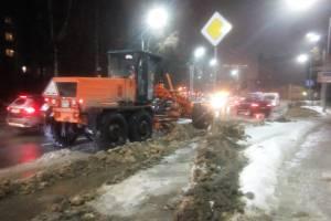 В Брянске улица Дуки встала в пробке из-за вредительства дорожников