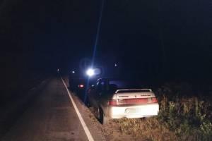 В Новозыбковском районе сотрудники ГИБДД поймали пьяного водителя