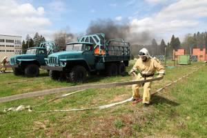 Брянские военные заняли второе место на конкурсе «Аварийный район»