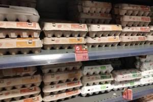 Рекордно подорожали яйца в Брянской области