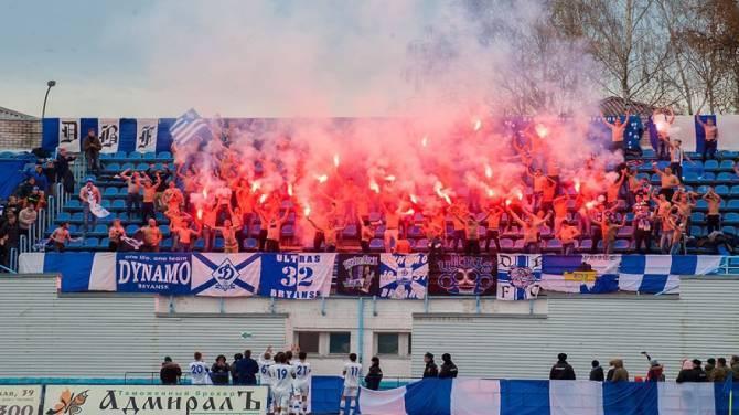 В Брянске матч «Динамо» с «Балтикой» пройдет без зрителей