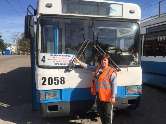 В Брянске троллейбус №4 пустят до Бульвара Щорса с 19 октября