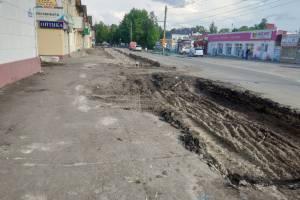 В Володарском районе Брянска напротив рынка обустроят парковку